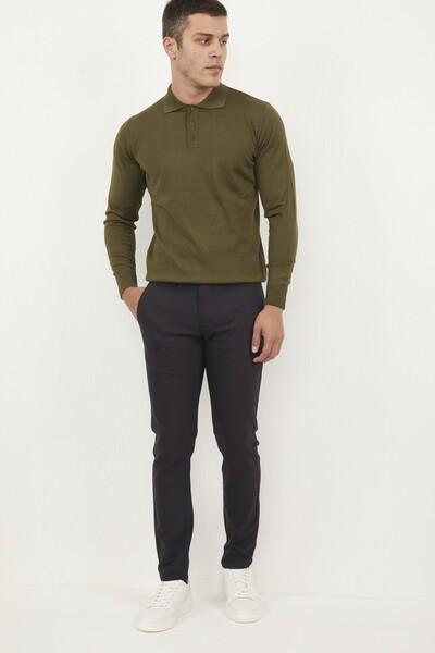 Likralı Slim Fit Erkek Pantolon - Thumbnail