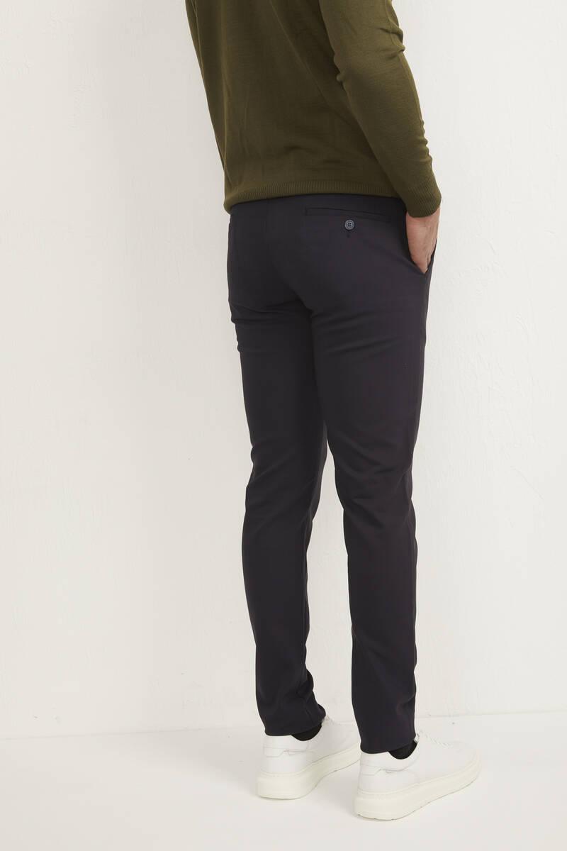 Likralı Slim Fit Erkek Pantolon