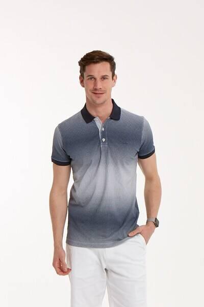 Baskılı Polo Yaka Erkek T-Shirt